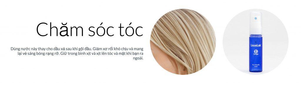 chăm sóc tóc pH6